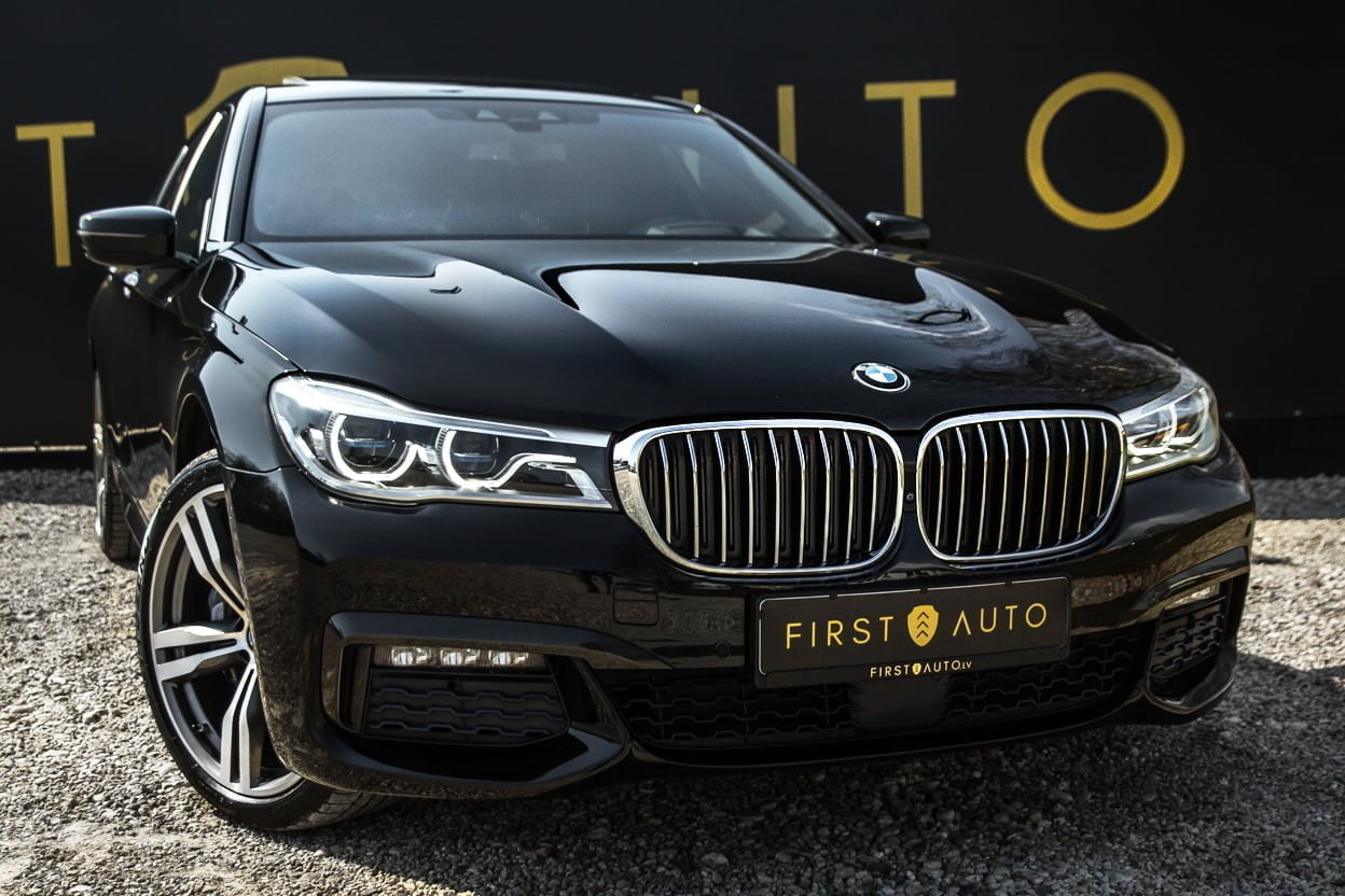 BMW 730D M-Sport Package